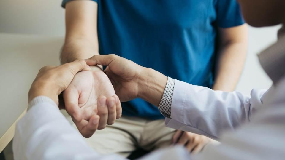 Treatment for wrist pain