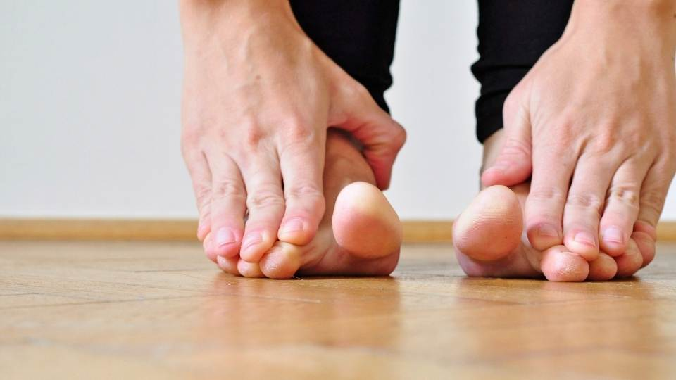 Foot exercise plantar fasciitis